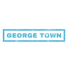 George town rubber stamp vector