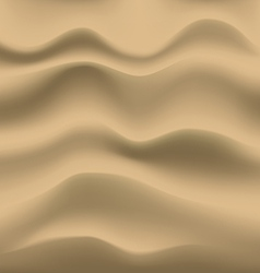 Smooth sand background vector