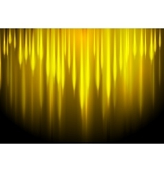 Glow yellow stripes abstract background vector