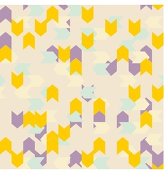Chevron seamless pattern or tile background vector