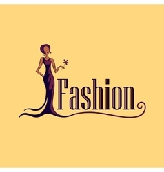 Fashion Logo Symbol vector image