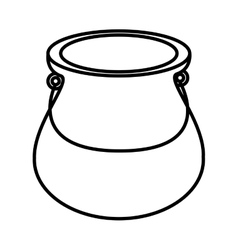Jug glass icon design vector image vector image