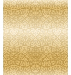 sepia seamless arabesque vector image