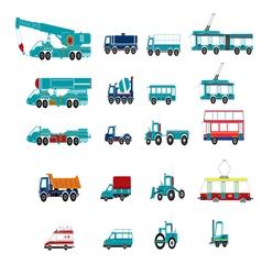 transport vector image