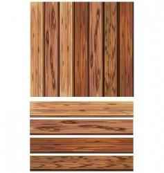 wood textures vector image