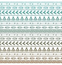 Seamless pattern in the style of boho or vector