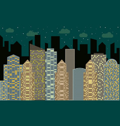 city2-26 vector image