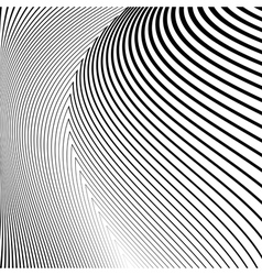 Design monochrome lines movement background vector image