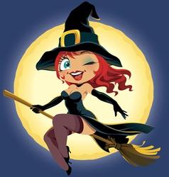 Halloween girl vector