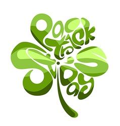Shamrock Leaf vector image