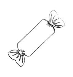Sweet confetii isolated icon vector