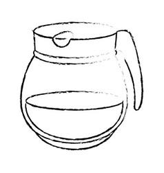 Kettle kitchenware utensil vector