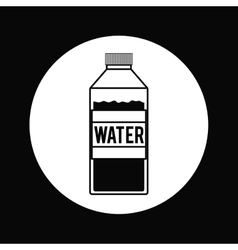 Bottle water design vector