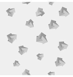 Geometric seamless simple monochrome pattern of vector