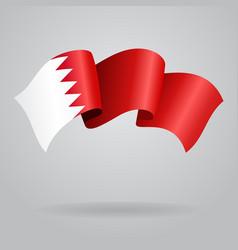 Bahrain waving Flag vector image