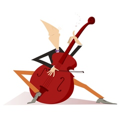 Cellist vector image vector image