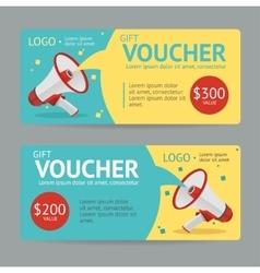 Gift Voucher vector image vector image