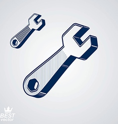Detailed repair tools vector