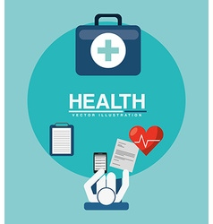 Health care design vector