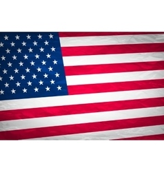 Grunge usa flag american america symbol vector