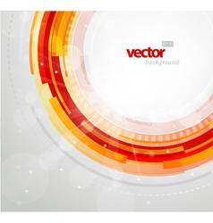 futuristic circles vector image vector image