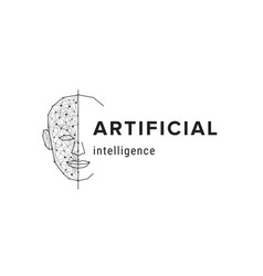 artificial intelligence futuristic science vector image