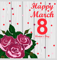 Card for women s day vector