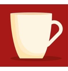 Mug of coffee shop design vector