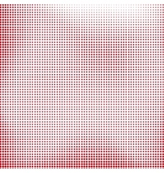 Red Halftone vector image