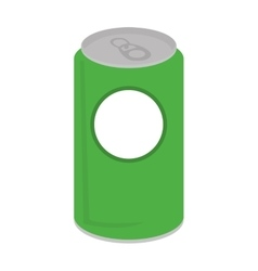 Can soda drink isolated icon vector