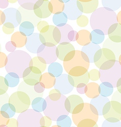 Seamless pattern with color circles for design vector