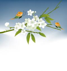 Cool spring vector