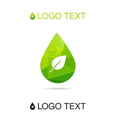 Nature and ecology symbol vector