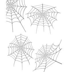 Spider web 05 vector