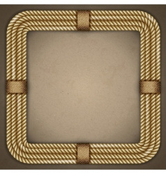 Frame the old paper background vector image vector image