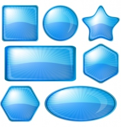 icons buttons vector image vector image