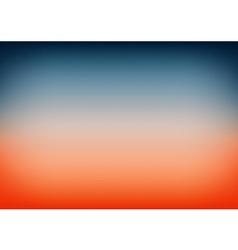 Sunset sky blue orange gradient background vector