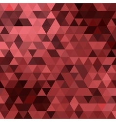triangles colored background vector image vector image