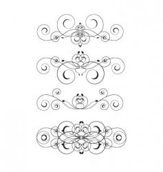 vignettes vector image