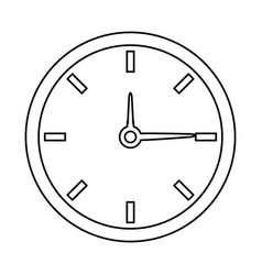 Clock time watch hour date minute vector