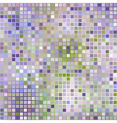 Lilac background from squares mosaic effect vector