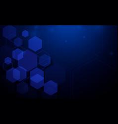 abstract technology digital hi tech geometric vector image vector image