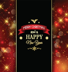 decorative christmas background 0811 vector image vector image