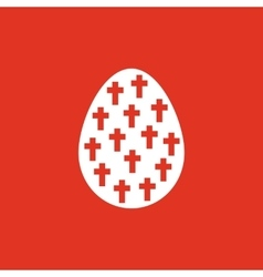 The Easter icon Easter egg symbol UI Web Logo vector image vector image