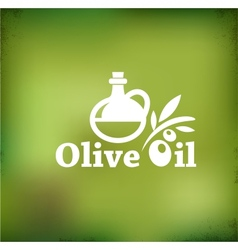 Olive oil backgound vector