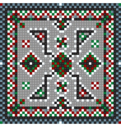 traditional carpet vector image