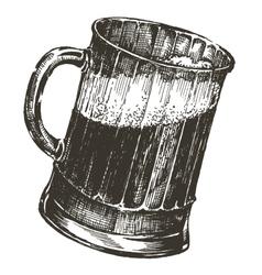 beer logo design template oktoberfest or vector image