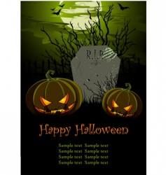 Halloween illustration vector