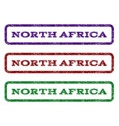 North africa watermark stamp vector