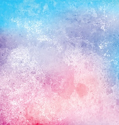 Grunge watercolor texture background vector image